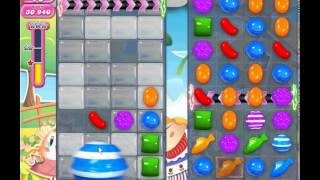 Candy Crush Saga level 597 (3 star, No boosters)