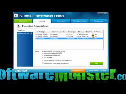 pc tools performance toolkit I PC Booster I  SoftwareMonster.com