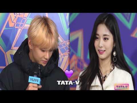 BTS V \u0026 TWICE TZUYU Taetzu Love Story