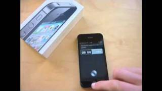 [Video] iPhone 4S - Siri