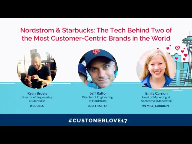 Post for video 'How Nordstrom and Starbucks Approach Customer Love