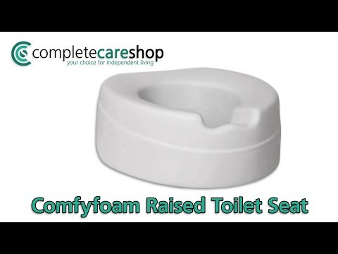 comfort-foam-raised-toilet-seat---requires-no-brackets-or-complex-fittings