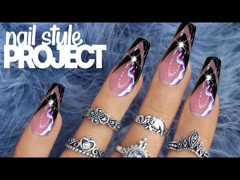 Manicure Hardware 💅Russian Style & Simple Nail Art On Gel Nails At Home | best nail art 2018