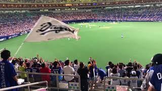 180726 中日対横浜 野本タイムリー!! ライスタより(ナゴヤドーム)