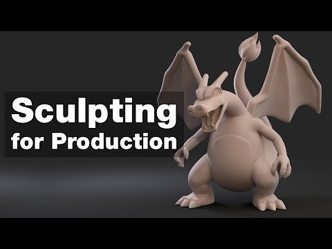 ZBrush Sculpting Stylized Characters for Toys and Collectibles