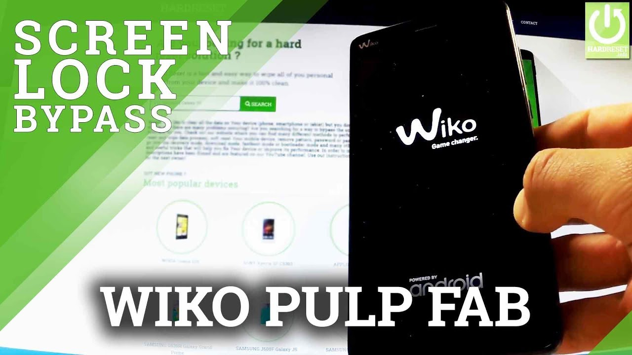 Hard Reset WIKO Pulp FAB - REMOVE PASSWORD / PATTERN by HardReset Info