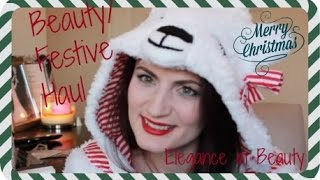 Beauty/ Christmas Haul!! Thumbnail