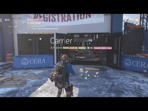 The Division 1.8 PTS New Carrier Mission - Aboard Aircraft Carrier