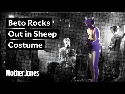 Michael Berry - Onesie-wearing Beto O'Rourke sings The Ramones