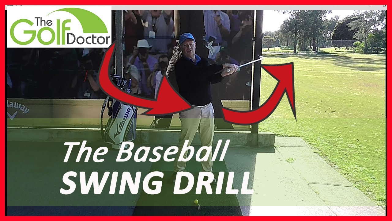 Baseball Swing Golf A Great Golf Drill