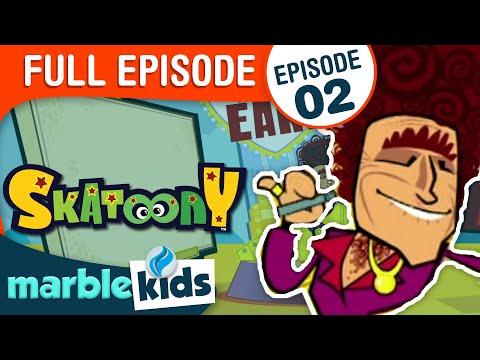 Skatoony Season 1 Episode 2 Invasion