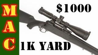 Savage Model 10: The 1000 Dollar 1000 Yard Rifle