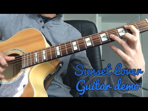 PETIT BISCUIT - Sunset Lover (Guitar Demo With Vocals) + TAB