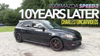 10 Years Later Review | 2008 Mazda Speed3 Turbo - Start up, Condition & Drive