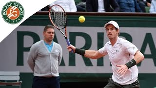 Murray v Karlovic Roland-Garros 2016 Men's Highlights / R3