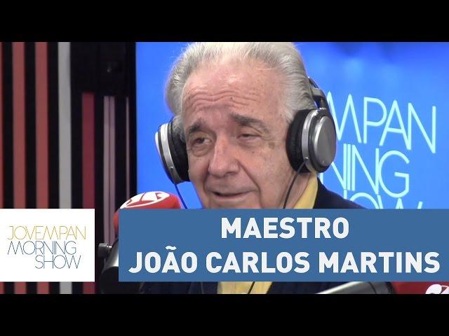 Maestro João Carlos Martins - Morning Show - 02/05/17