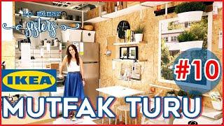 IKEA MUTFAK TURU 10. BÖLÜM : 8 m2 MODERN & ENDÜSTRİYEL TARZ MUTFAK - İç Mimar Sisters