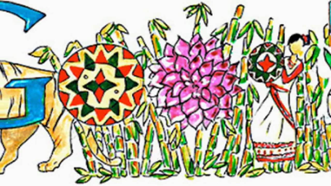 doodle 4 google india 2014 winner vaidehi reddy paints about assam