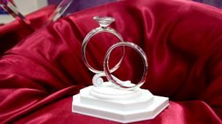 Топпер кольца с большим бриллиантом для свадебного торта https://vk.com/club53829666