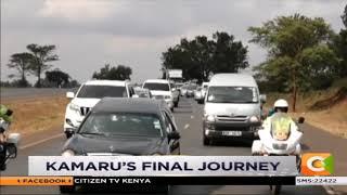 President Kenyatta among mourners sending off Musician Joseph Kamaru