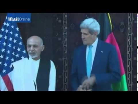 John Kerry makes surprise visit to Kabul