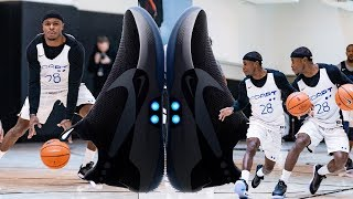 Initial thoughts & HOOPING in the NIKE ADAPT BB Self Lacing Basketball Sneaker