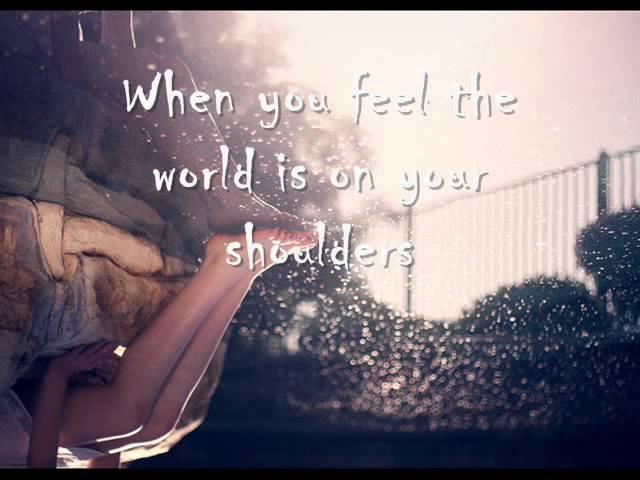 ...It feels like nobody ever knew me...