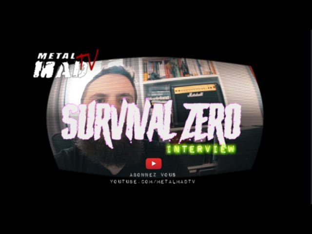"Interview SURVIVAL ZERO "" Lockdown"""