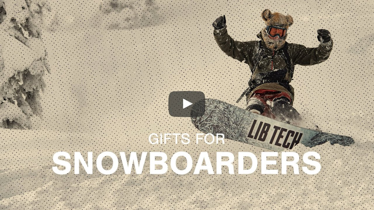 Gifts for Snowboarders - Snowboard Gift