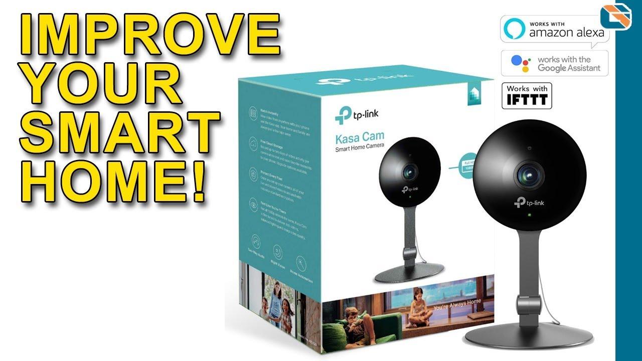 TP-Link Kasa Cam Smart Home Camera Review - YouTube