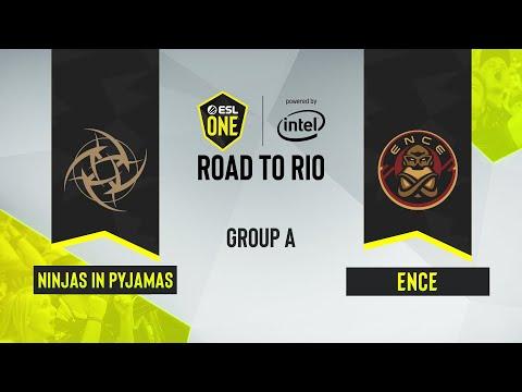 CS:GO - Ninjas In Pyjamas Vs. ENCE [Train] Map 1 - ESL One: Road To Rio - Group A - EU