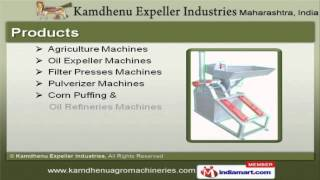 Agriculture Machinery & Oil Expeller Machine by Kamdhenu Expeller Industries, Nagpur