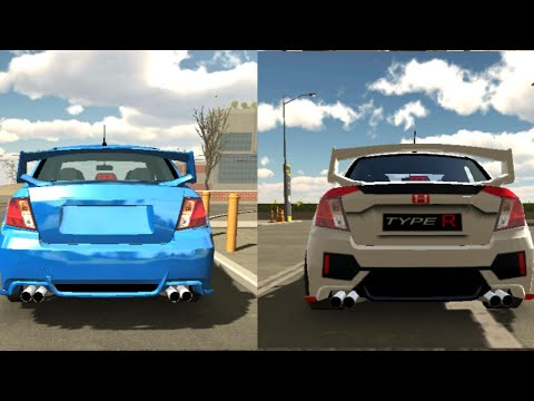 TUTORIAL OF HONDA CIVIC TYPE R DECALS || CAR PARKING MULTIPLAYER
