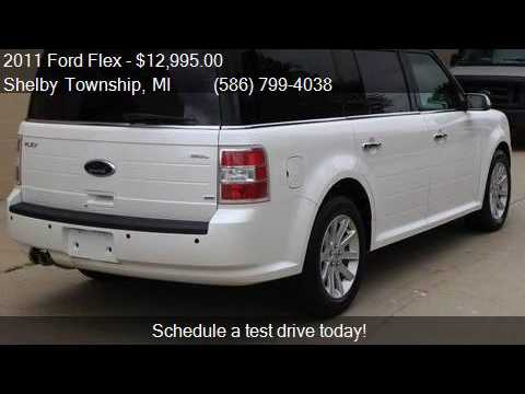 2011 ford flex sel awd 4dr crossover for sale in shelby town youtube. Black Bedroom Furniture Sets. Home Design Ideas