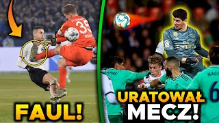 Thibaut Courtois BOHATEREM! Bramkarz WYKOSIŁ rywala! Arsenal 0-3 Manchester City!