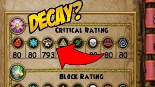 Wizard101: 117 vs 110 Storm Wizard Stat Comparison (Critical Decay)