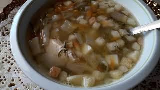 Гороховый суп с Кротонами/Очень Вкусный Сытный/ Обед/Легкий рецепт/Сьедается мгновенно/Дробная еда