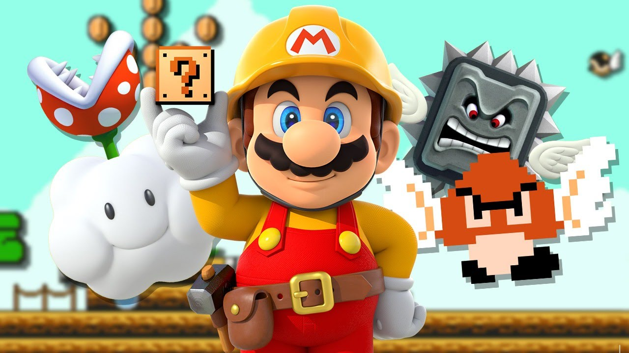 Forget New Super Mario Bros  U Deluxe, Put Mario Maker on