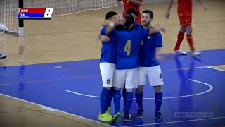UEFA FUTSAL EURO QUALIFYING ROUND Montenegro vs Italia Highlights