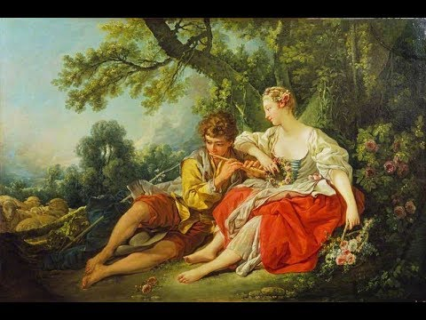 French rococo art