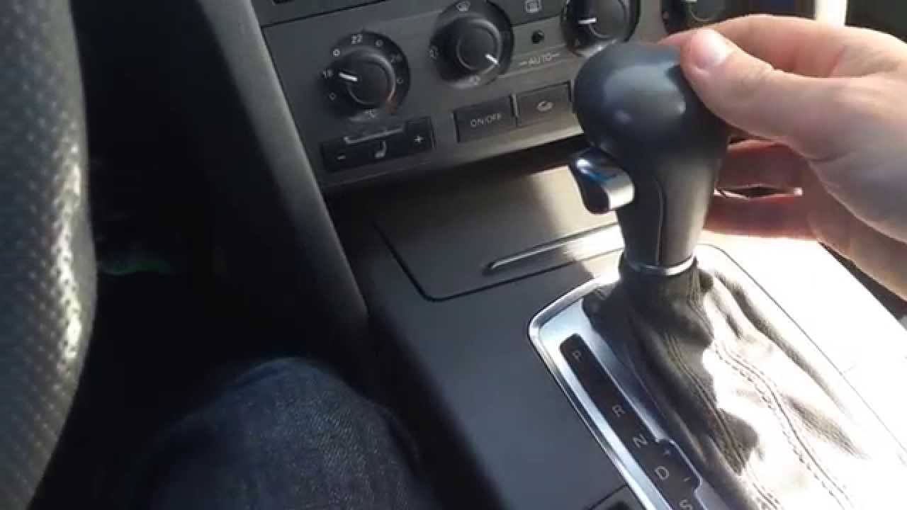 Gear Selector Stuck In Park Audi Multitronic