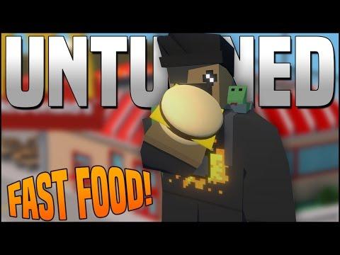 FAST FOOD IN UNTURNED! - (Unturned Mods)