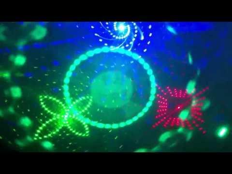 New led laser light KaraKing, Karaoke laser light, disco lighting, from REKE