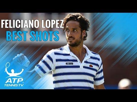 Feliciano Lopez: Best Career ATP Shots