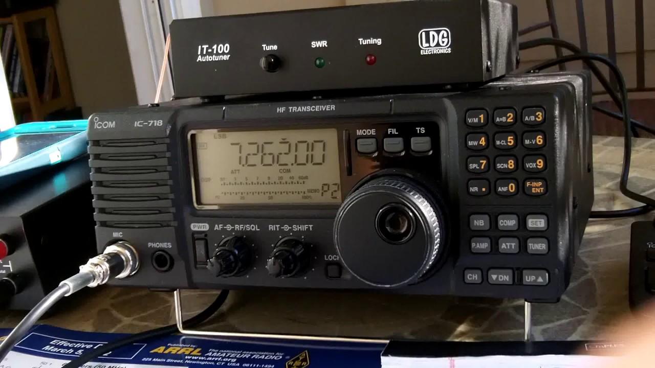 Monitoring Hurricane Irma with Ham Radio from Charlotte, NC