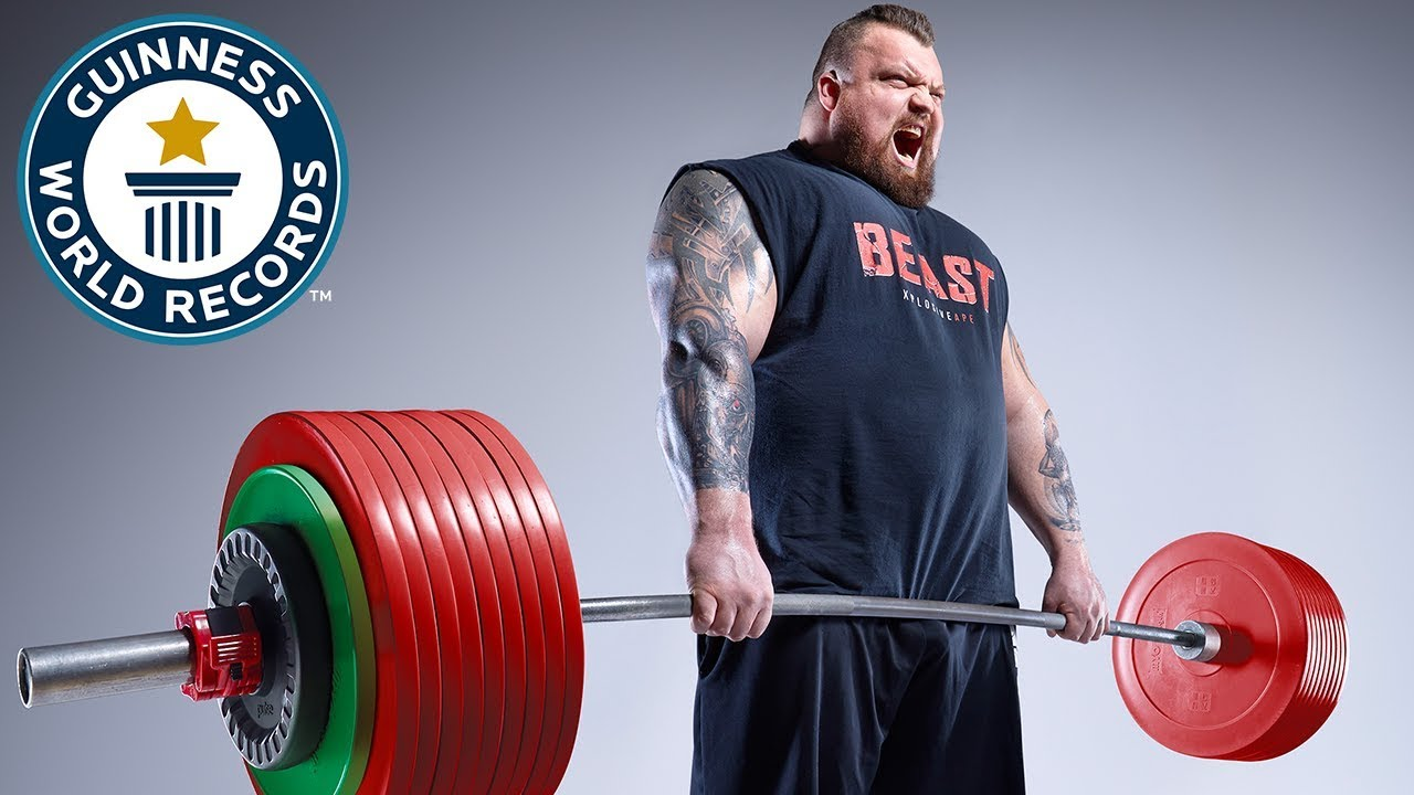 Video: World's Strongest Man winner Eddie Hall shares his intense