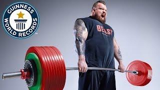 Eddie Hall: World's Strongest Man - Meet The Record Breakers Europe