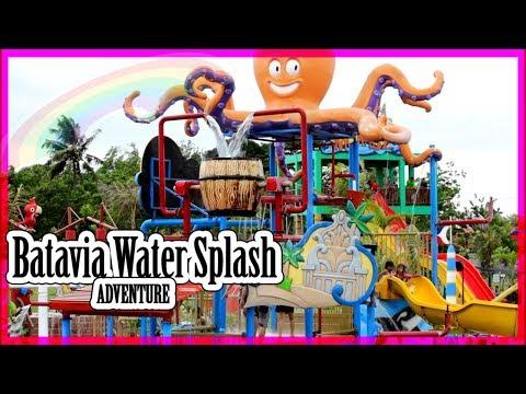 Weekend Seru!! Kolam Renang Batavia Splash Water Adventure | Berenang Dan Bermain Perosotan Air
