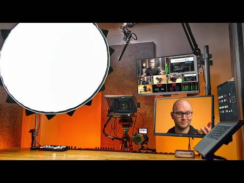 Ultimate Video Studio Desk Setup!
