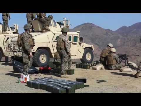U S Marine Corps Machine Gunner Course - YouTube